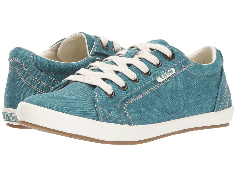 Taos Footwear Star (Teal Wash Canvas) Women