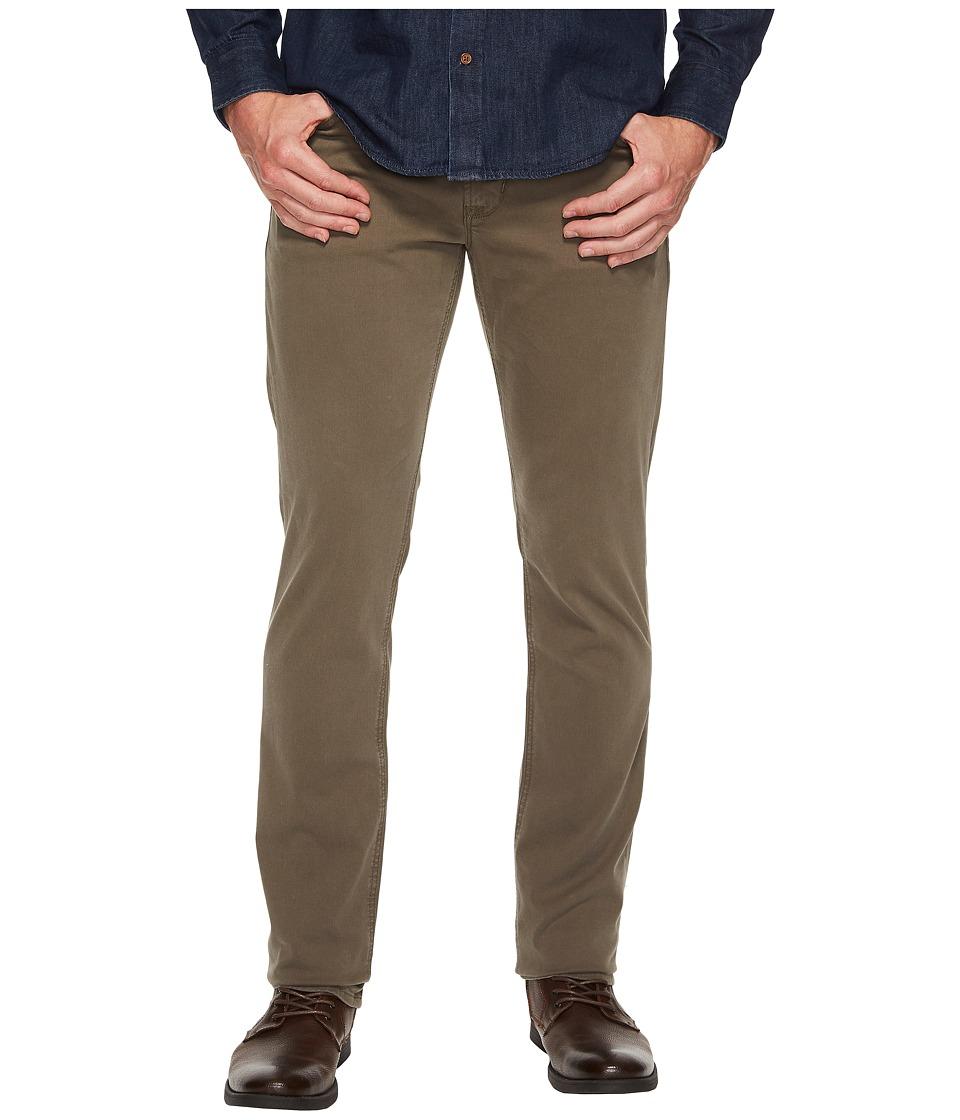 Hudson - Blake Slim Straight Twill in Plaster (Plaster) Mens Jeans
