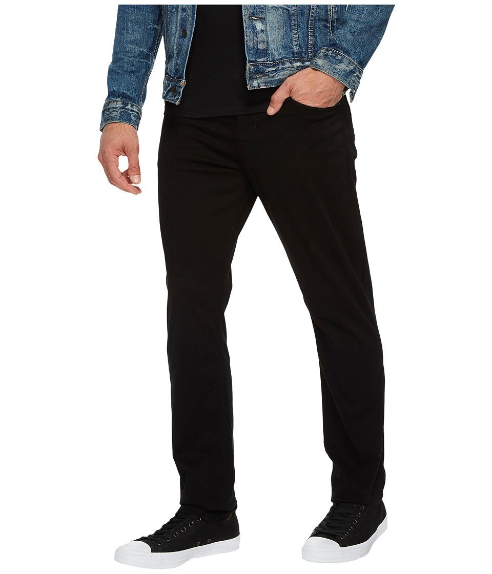 Hudson - Blake Slim Straight Twill in Blackened (Blackened) Mens Jeans