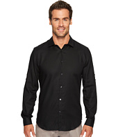 Calvin Klein - Twill Roll-Up Button Down Shirt