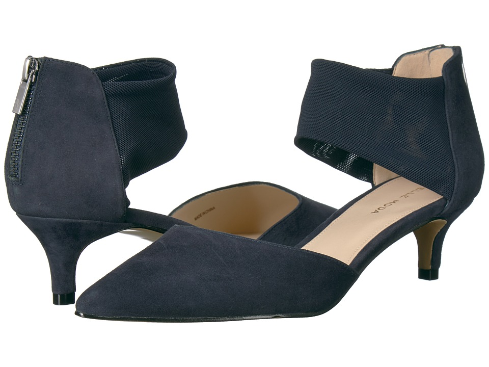 Pelle Moda Dezi (Midnight Suede) Women