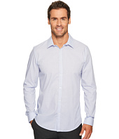 Calvin Klein - Slim Fit Infinite Cool Poplin Variegated Stripe Button Down Shirt