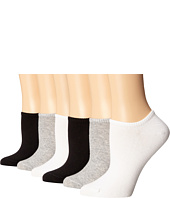 HUE - Cotton Liner 6 Pair Pack