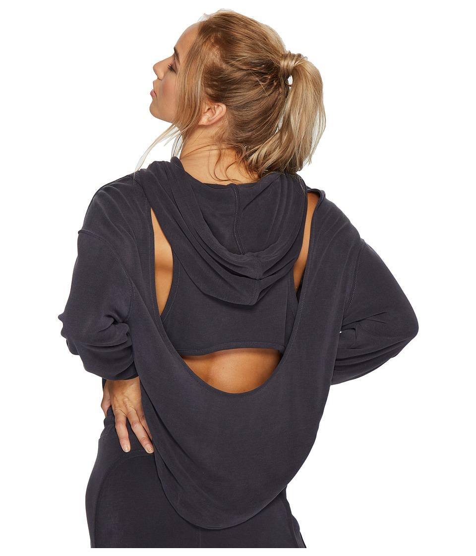 Free People Movement - Back into It Hoodie (Black) Womens Sweatshirt