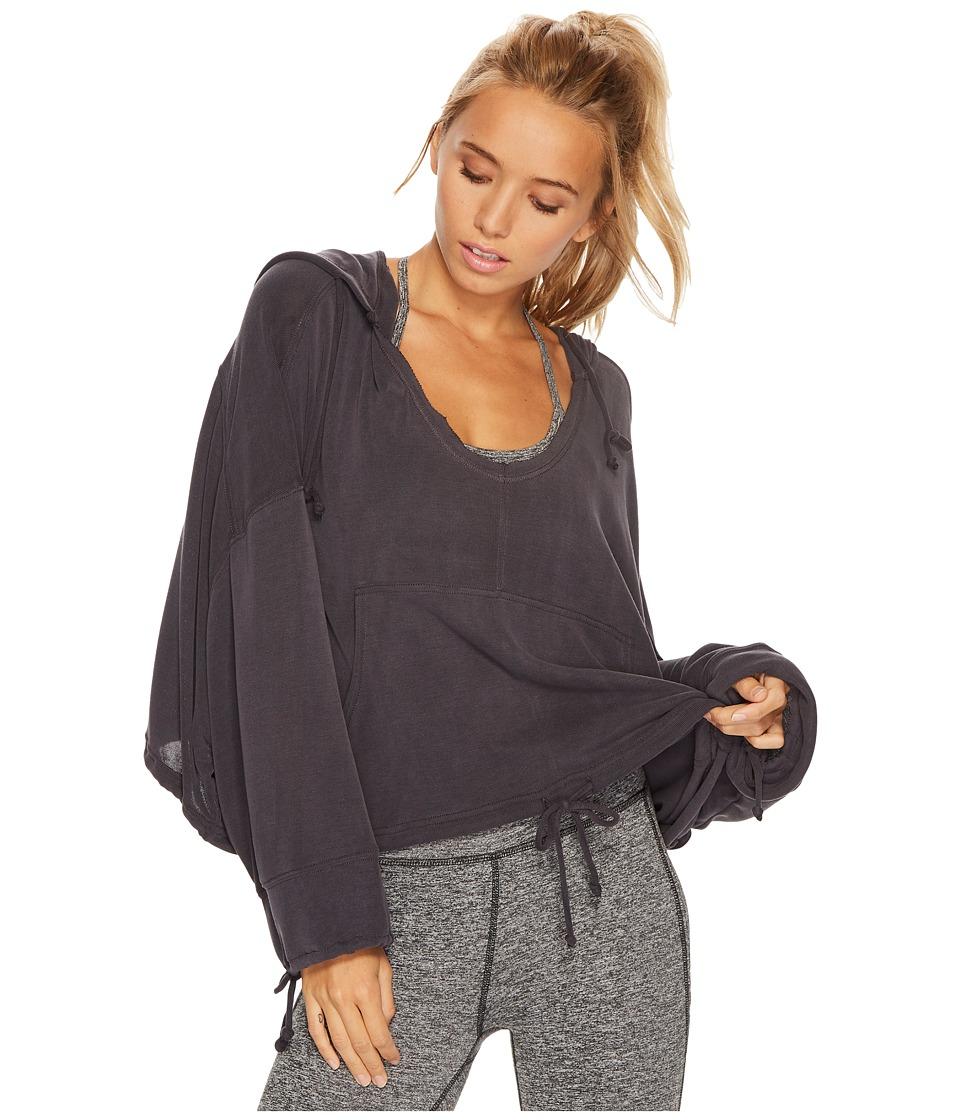 Free People Movement - Yella Hoodie (Black) Womens Sweatshirt