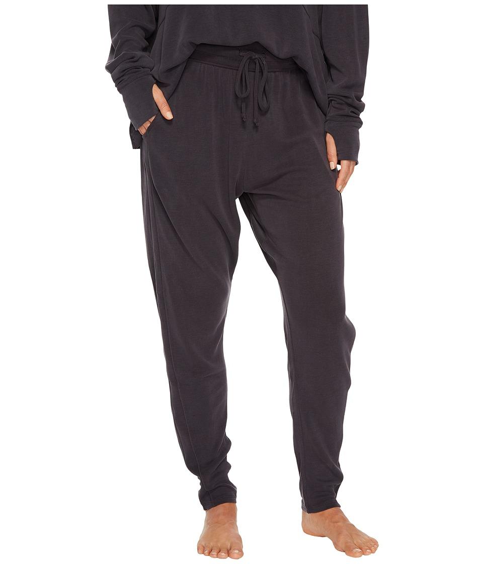 Free People Movement - Yella Harem Jogger (Black) Womens Casual Pants