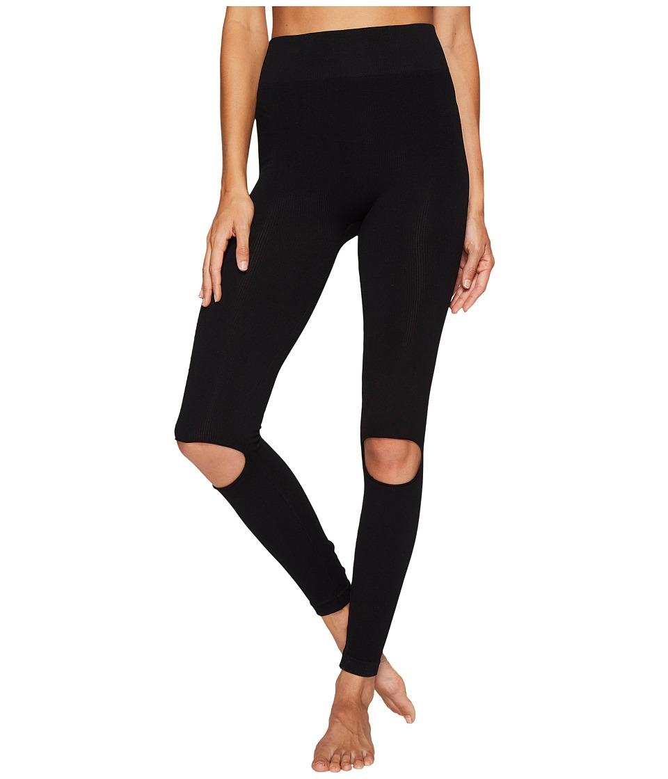 Free People Movement - Ryanne Leggings (Black) Womens Casual Pants