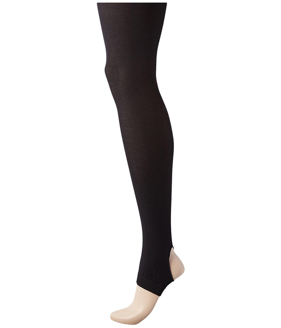 HUE - Stirrup Tights (Black) Hose