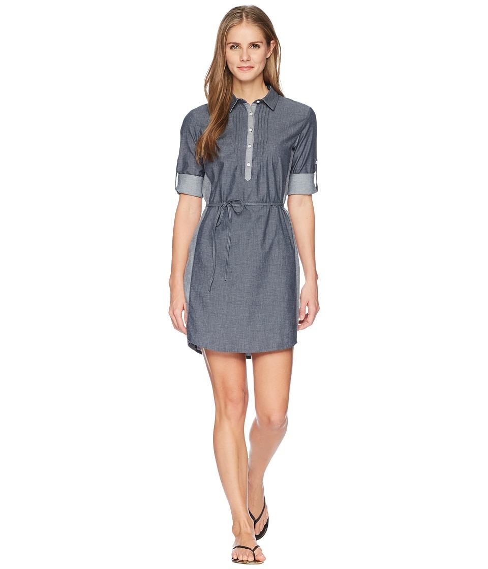 KUHL Kiley Dress (Vintage Indigo/Sail Blue) Women