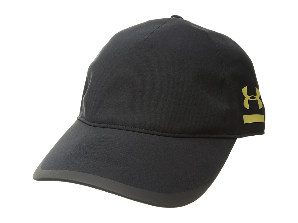 Under Armour - Redline Free Fit Hat (Black/Metallic Victory Gold) Baseball Caps