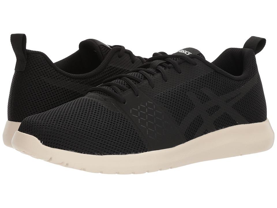 ASICS - Kanmei MX (Black/Black/White) Mens Running Shoes