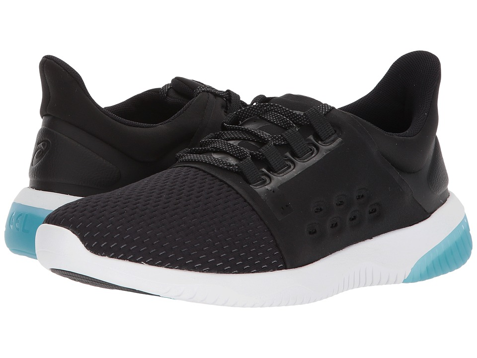 ASICS GEL-Kenun Lyte (Black/Phantom/Lake Blue) Women's Running Shoes
