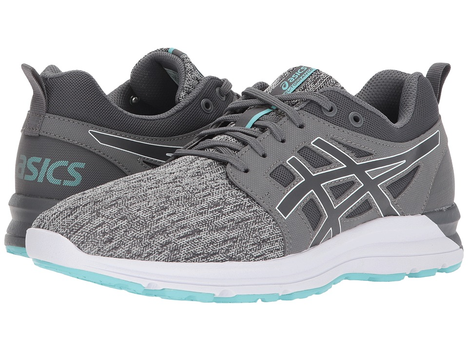 ASICS GEL-Torrance (Carbon/Carbon/Aruba Blue) Women's Running Shoes