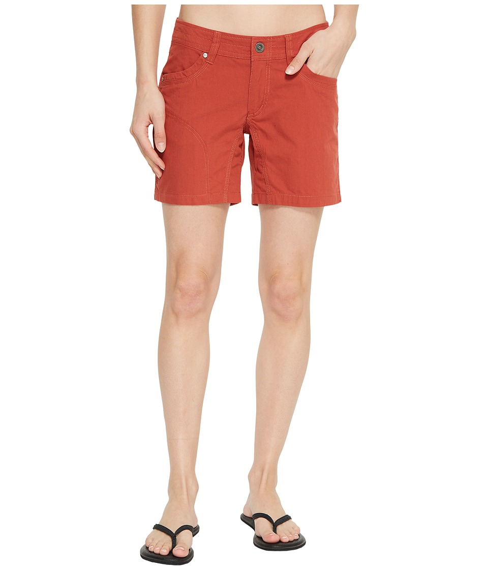 KUHL - Splash 5.5 Short (Sienna) Womens Shorts