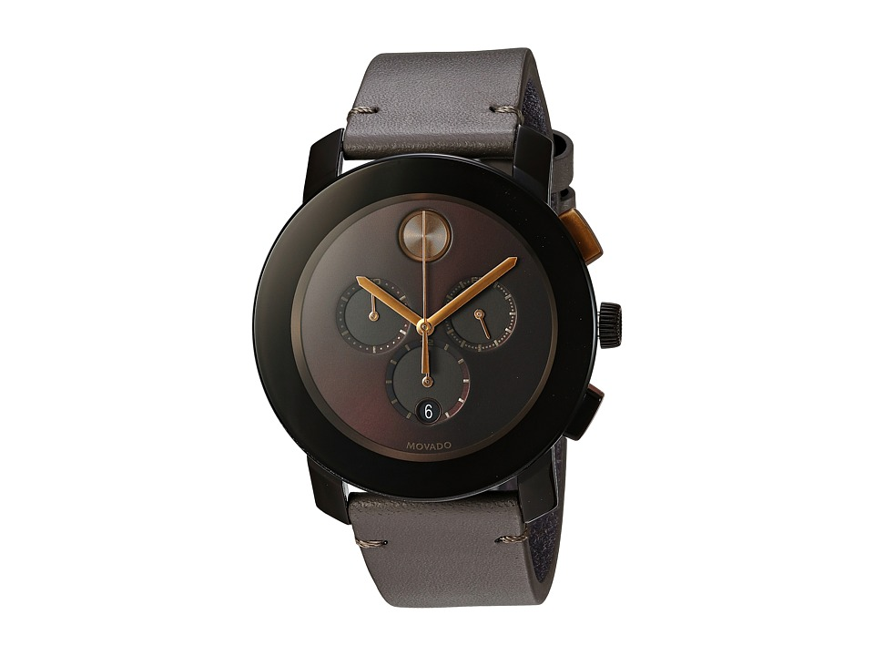Movado - Bold - 3600445 (Brown TR90/Stainless Steel) Watches