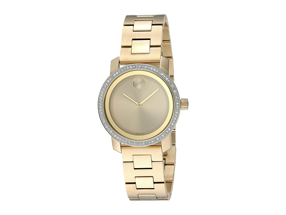 Movado - Bold - 3600440 (Yellow Gold) Watches