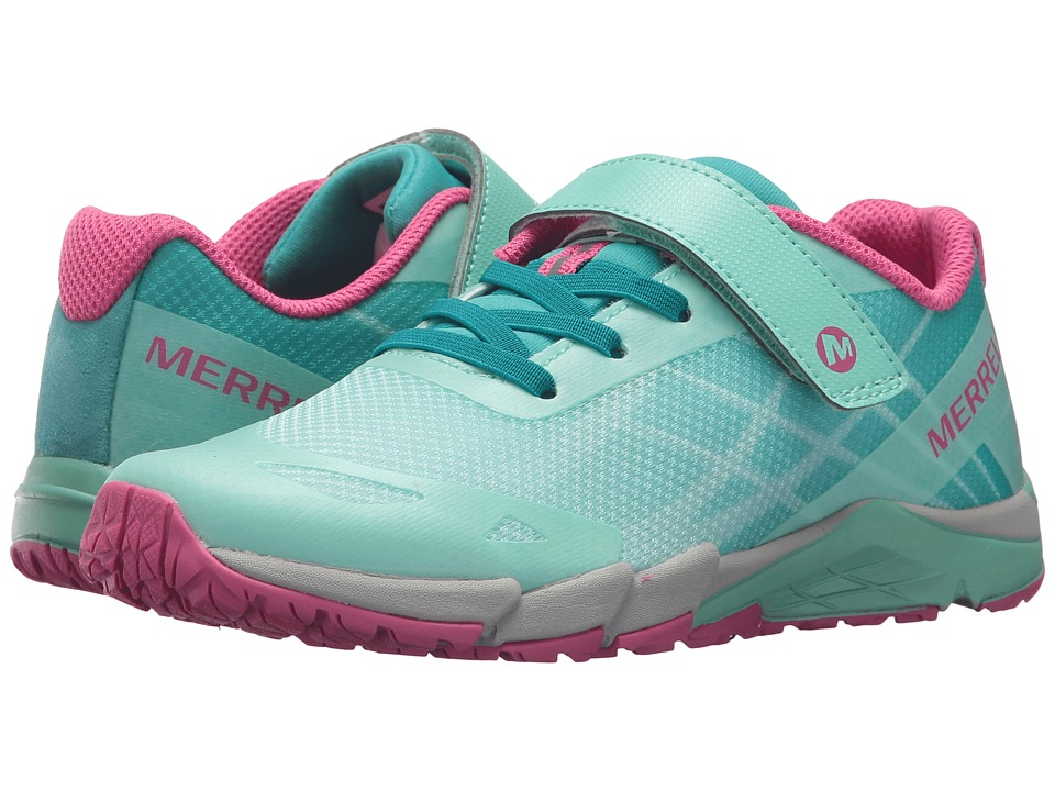 Merrell Kids Bare Access A/C (Big Kid) (Turquoise/Berry) Girls Shoes