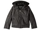 Urban Republic Kids Hooded Sherpa Moto Jacket (Little Kids/Big Kids)