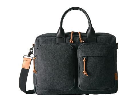 Fossil Defender Top Zip Workbag - Grey