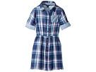 Tommy Hilfiger Kids - Yarn-Dye Plaid Shirtdress (Big Kids)