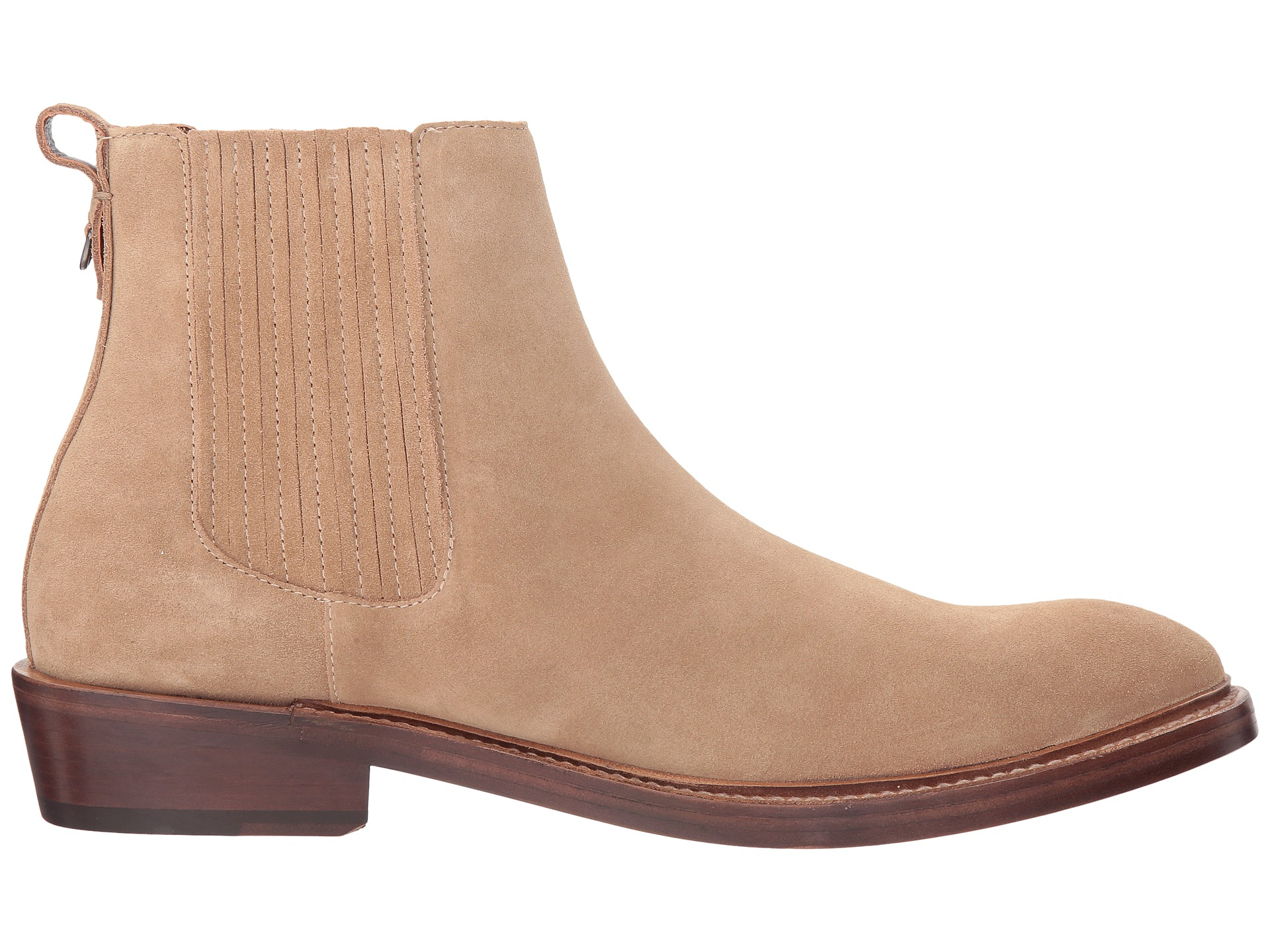 coach chelsea boot suede at zappos
