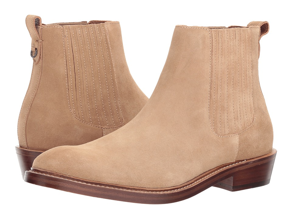 COACH - Chelsea Boot Suede (Sand) Mens Boots