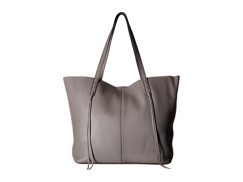 Rebecca Minkoff Medium Unlined Tote with Whipstitch - Grey