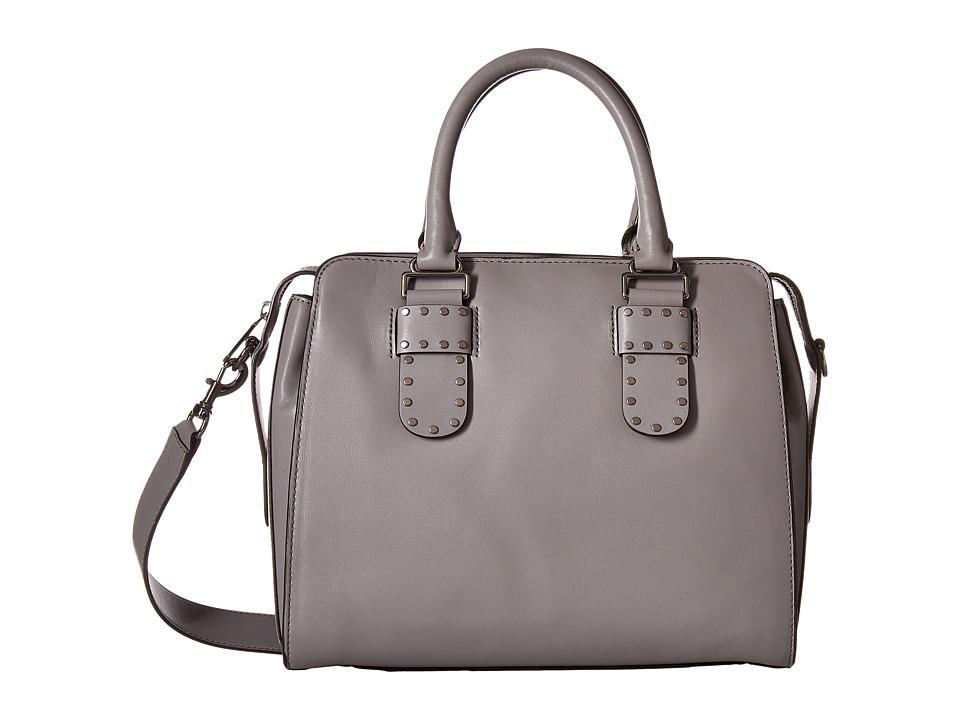 Rebecca Minkoff - Midnighter Work Satchel Tote (Grey) Tote Handbags