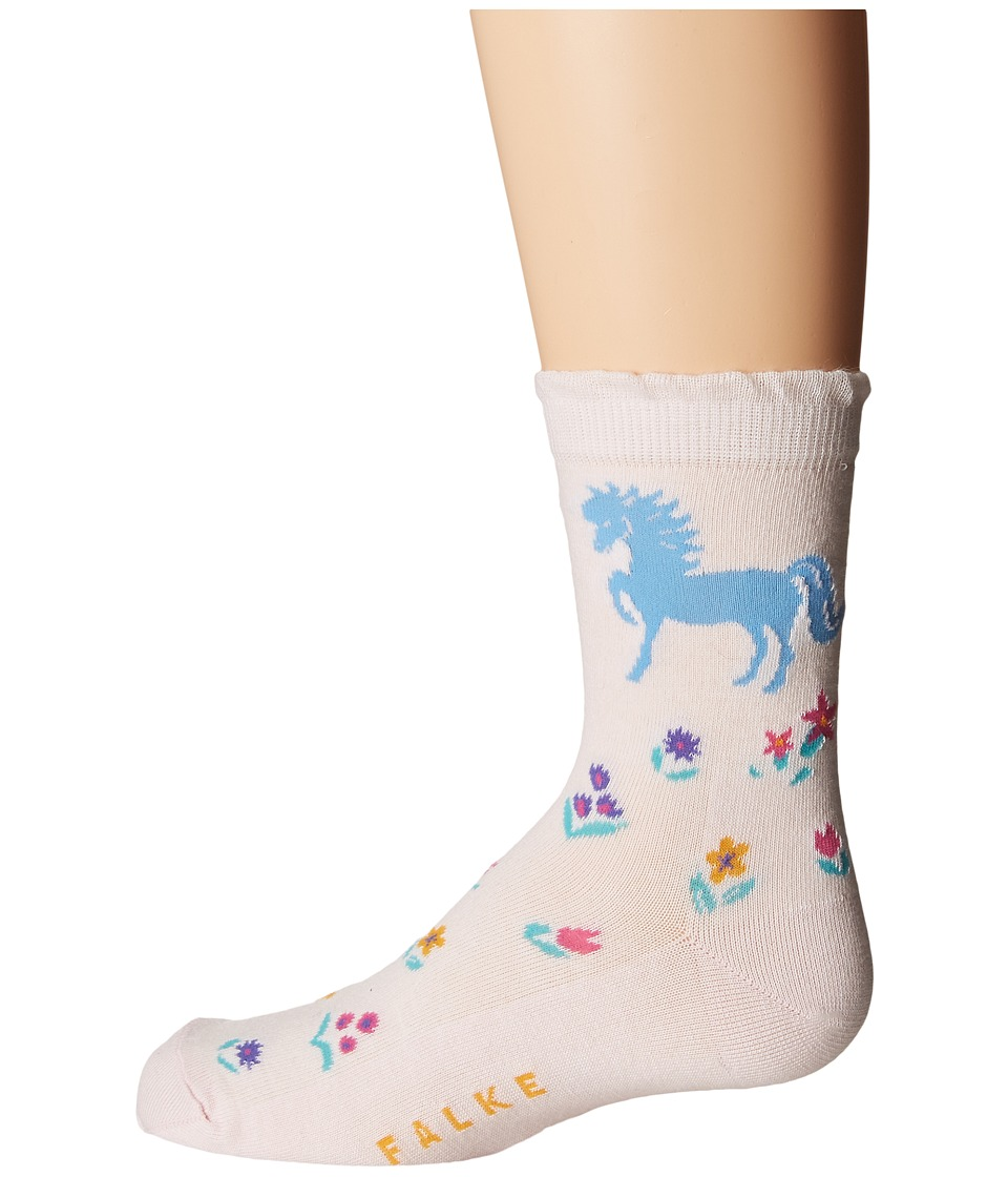 FALKE Horse Sock 2 (Toddler/Little Kid/Big Kid) (Powder R...