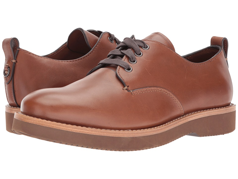 COACH - Derby Leather (Dark Saddle) Mens Lace up casual Shoes