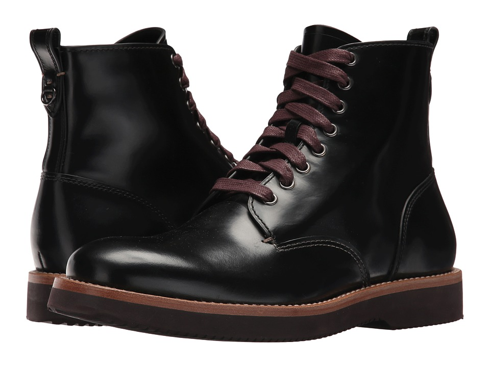 COACH - Derby Boot Spazz (Black) Mens Boots