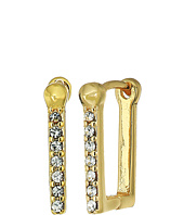 Rebecca Minkoff - Simple Pave Huggie Earrings
