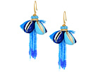 Rebecca Minkoff Lola Seed Bead Tassel Earrings