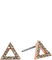 Rebecca Minkoff - Triangle Stud Earrings