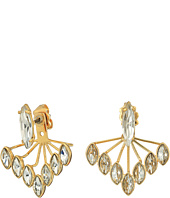 Rebecca Minkoff - Front Back Sparkler Earrings