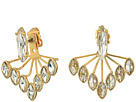 Rebecca Minkoff Front Back Sparkler Earrings