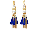 Rebecca Minkoff Tassel and Fringe Chandelier Earrings
