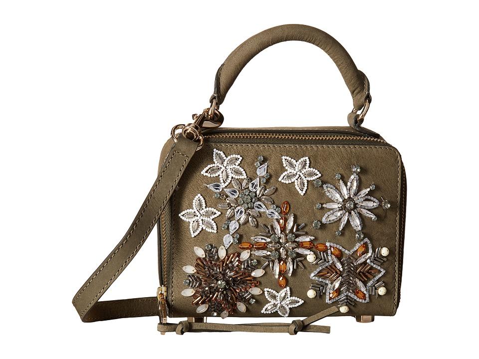 Rebecca Minkoff - Box Crossbody (Olive) Cross Body Handbags