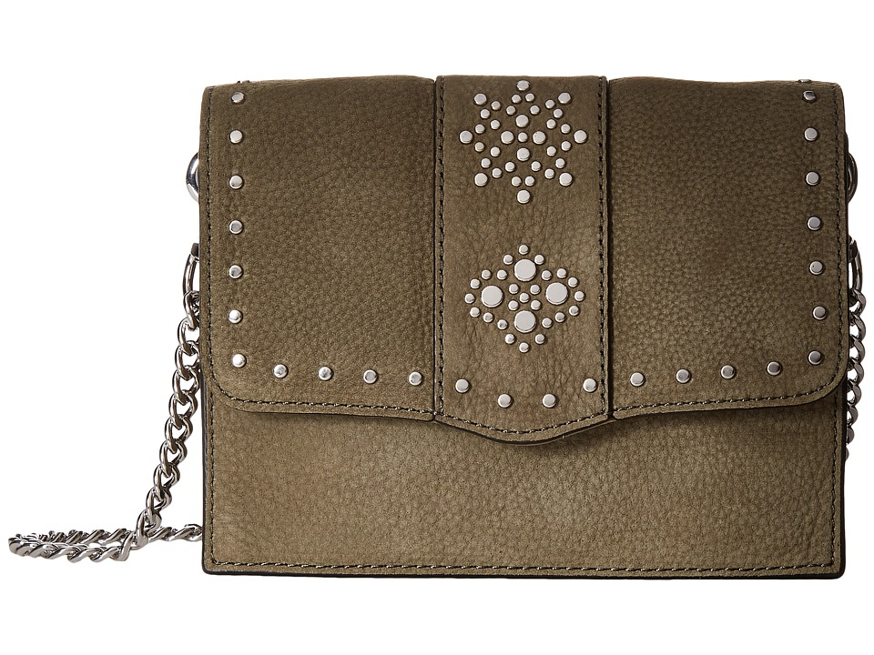 Rebecca Minkoff - Small Flap Crossbody (Olive) Cross Body Handbags