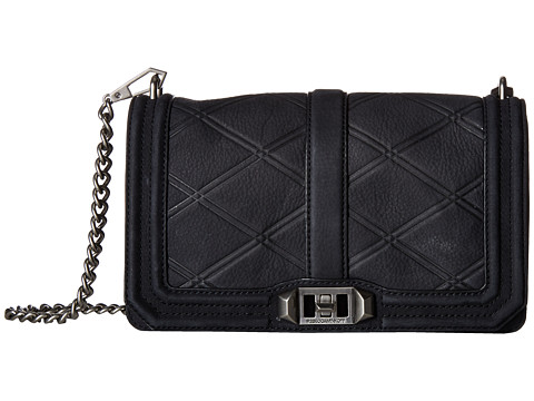 Rebecca Minkoff Love Crossbody - Black 4