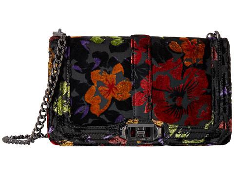 Rebecca Minkoff Love Crossbody - Floral Velvet