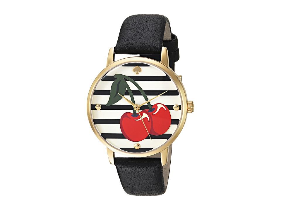 Kate Spade New York - Cherry Metro - KSW1343 (Black) Watches