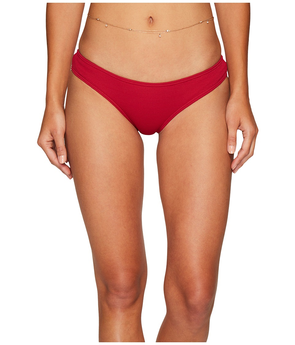 Billabong Luv Myself Hawaii Lo Bikini Bottom (Crimson) Women
