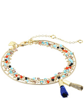 Rebecca Minkoff - Beaded Tri-Layer Bracelet