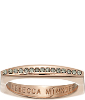 Rebecca Minkoff - Pave Square Stacking Ring