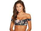 Billabong - Let It Bloom Lace-Up Bikini Top