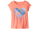 Nike Kids Glitter Heart Short Sleeve Tee (Toddler)