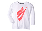 Nike Kids Sportswear Essential Long Sleeve Top (Little Kids)