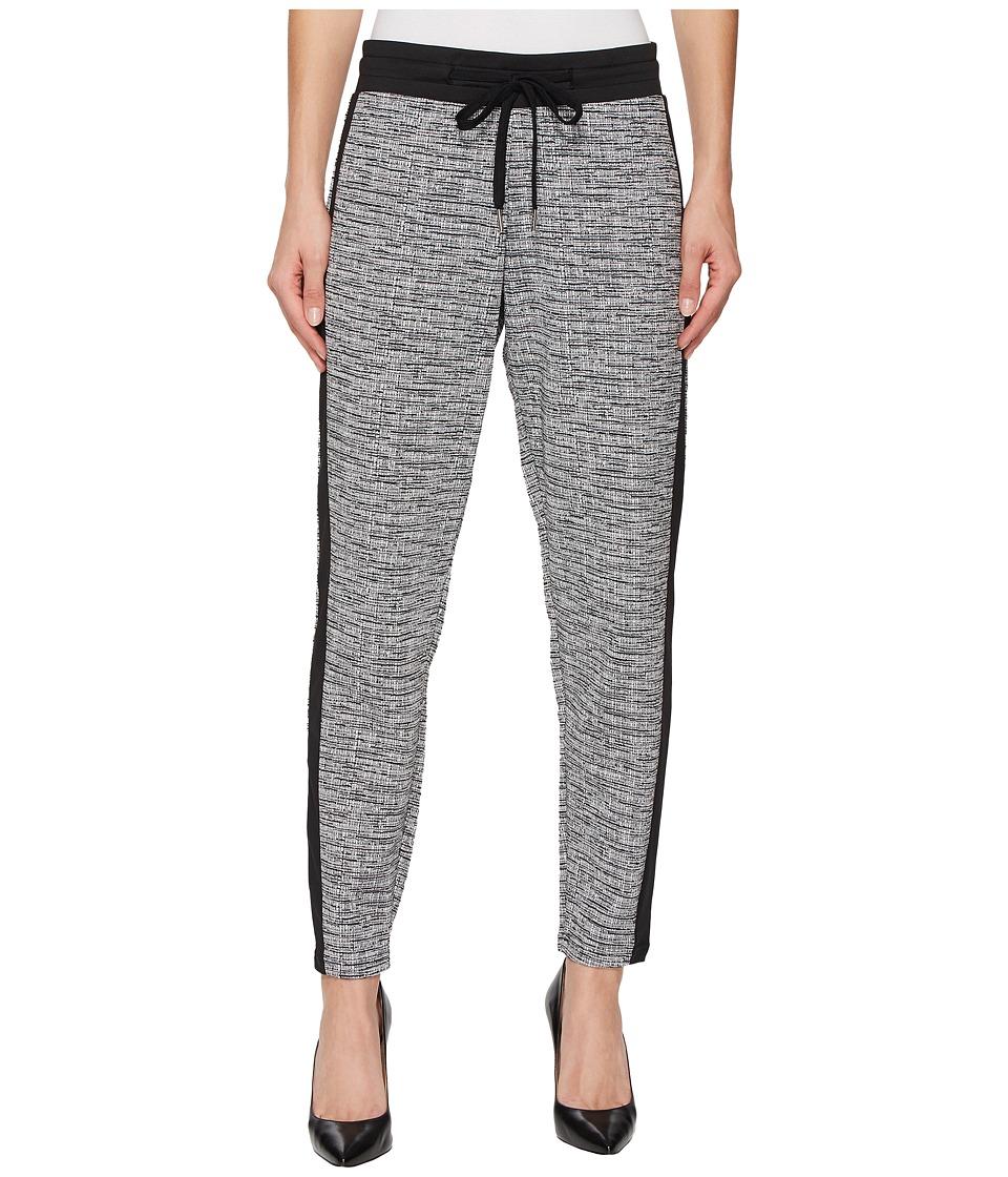 HUE Tuxedo Lux Tweed Leggings (Black) Women