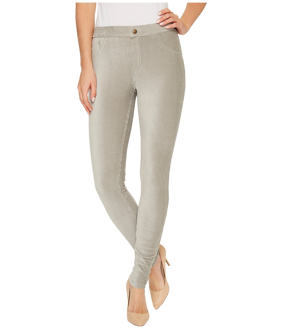 HUE Corduroy Leggings (Wild Dove) Women's Casual Pants